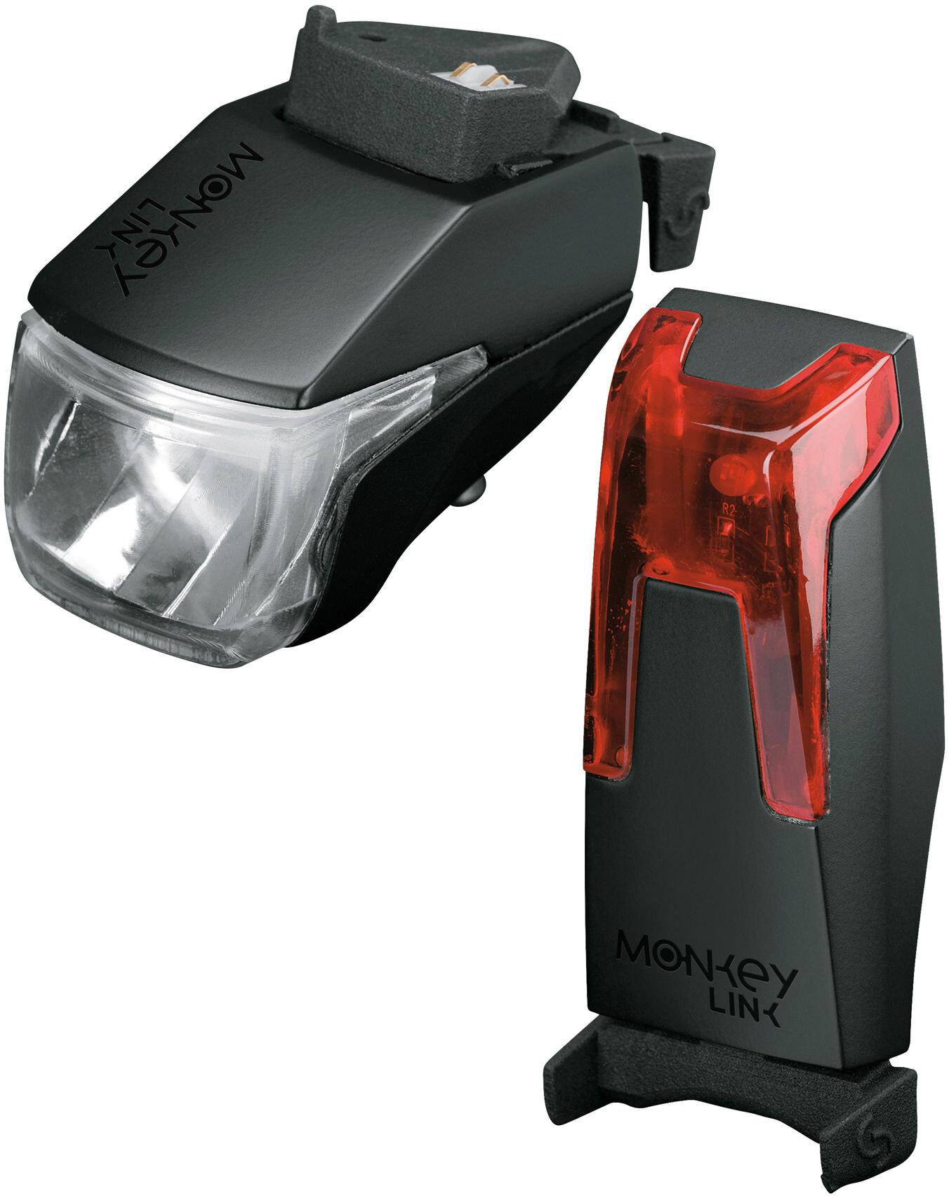 Monkeylink monkeylight bike light set 70 lux set refill